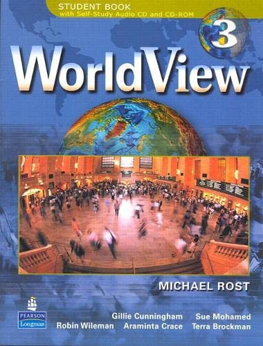 9780131840102: WorldView 3 with Self-Study Audio CD and CD-ROM Workbook: Workbook Pt. 3 (Worldview Workbooks)