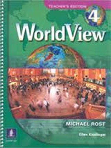 9780131840164: Worldview: Teacher's Edition Pt. 4