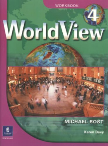 9780131840171: WorldView 4 with Self-Study Audio CD and CD-ROM Workbook (Worldview Workbooks) (Pt. 4)