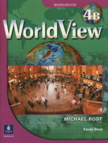 9780131840188: WorldView 4 with Self-Study Audio CD and CD-ROM Workbook 4B (Pt. 4b)