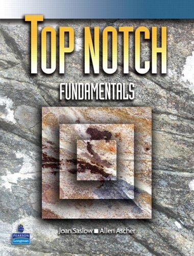 9780131840362: Top Notch Fundamentals Student Book wAudio CD
