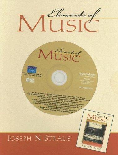 Elements of Music: Straus, Joseph N.