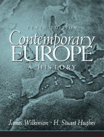 9780131841765: Contemporary Europe: A History (10th Edition)
