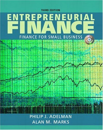 9780131842052: Entrepreneurial Finance - Finance for Small Business (3rd Edition)