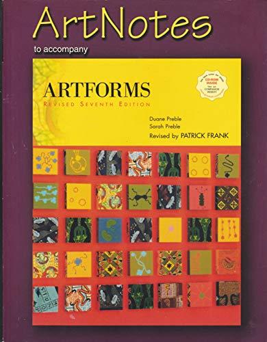 9780131842281: ArtNotes to Accompany Artforms