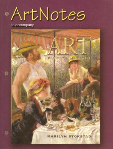 9780131842304: Art Notes to Accompany Art a Brief History, Second Edition (Pearson Education)