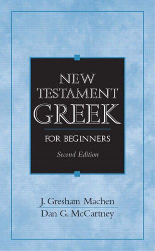 9780131842342: New Testament Greek for Beginners