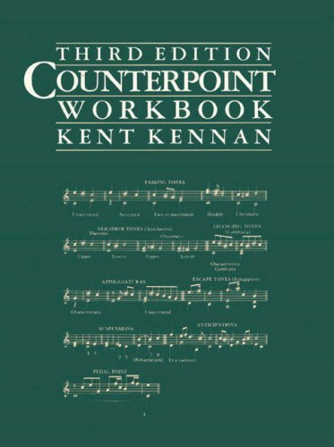 9780131842434: Counterpoint Workbook