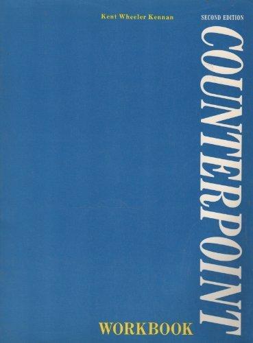 9780131843097: Counterpoint Workbook