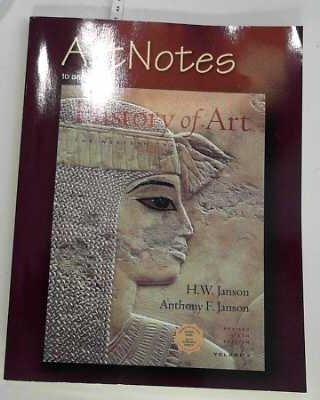 9780131843103: ArtNotes to Accompany History of Art: The Western Tradition, Vol. 1