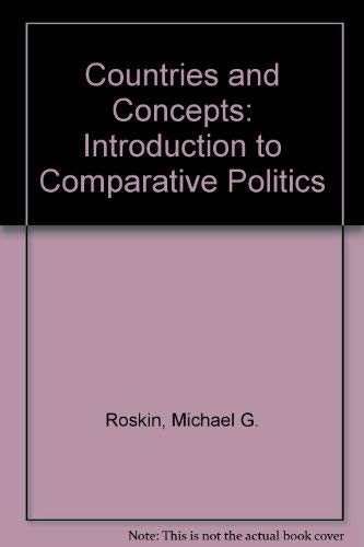 9780131843257: Countries and Concepts: Introduction to Comparative Politics