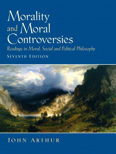 9780131844049: Morality and Moral Controversies: Readings in Moral, Social and Political Philosophy (7th Edition)