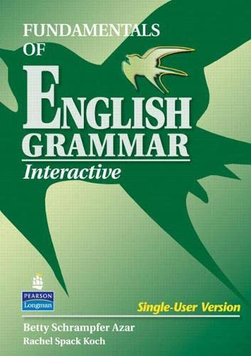 9780131844148: Fundamentals of English Grammar Interactive CD-ROM
