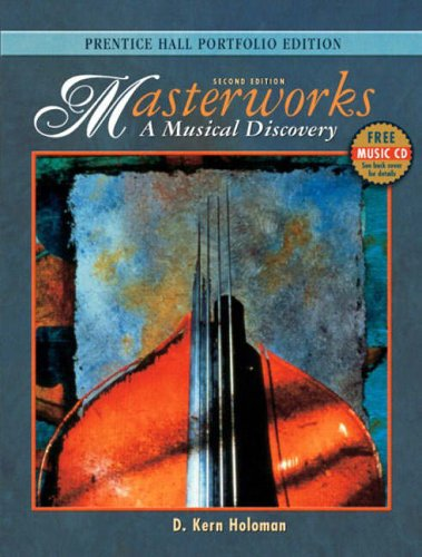 9780131844254: Masterworks: A Musical Discovery
