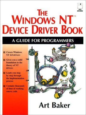 9780131844742: Windows NT: Device Driver Book (Prentice  Hall Series on Microsoft Technologies)