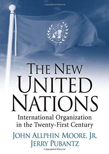 9780131844889: The New United Nations: International Organization in the Twenty-First Century