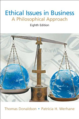 9780131846197: Ethical Issues in Business: A Philosophical Approach (8th Edition)
