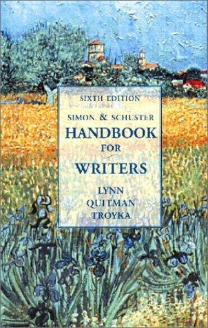 9780131846791: Handbook for Writers (Simon & Schuster)