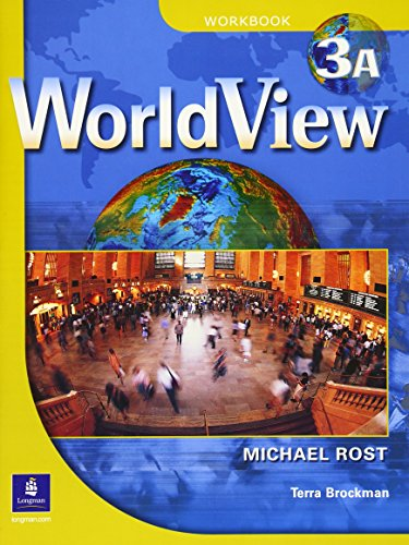 9780131847002: WorldView 3 with Self-Study Audio CD and CD-ROM Workbook 3A (Pt. 3a)