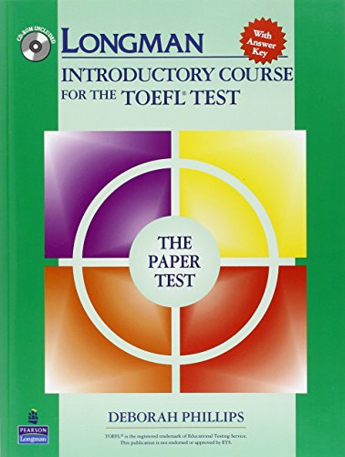 9780131847187: Longman Introductory Course for the TOEFL Test, The Paper Test (Book with CD-ROM, with Answer Key) (Audio CDs or Audiocassettes required)