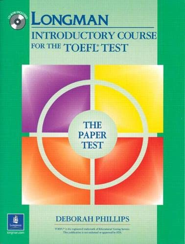 9780131847194: Longman Introductory Course for the TOEFL Test, The Paper Test (Book with CD-ROM, without Answer Key)