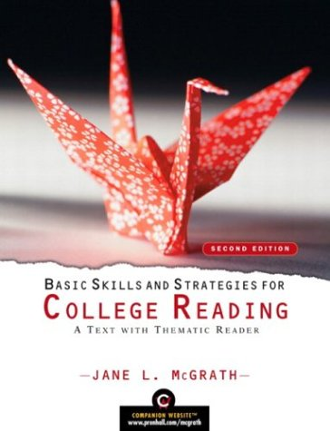 9780131848986: Basic Skills and Strategies for College Reading: A Text with Thematic Reader (2nd Edition) (McGrath Developmental Reading)
