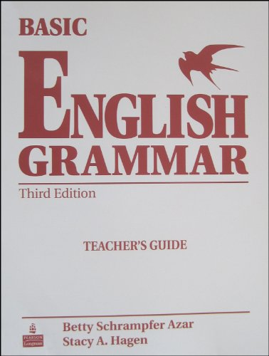 9780131849297: Basic English Grammar, Third Edition (Teacher's Guide)