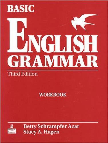 9780131849341: Basic English Grammar Workbook: Full Workbook