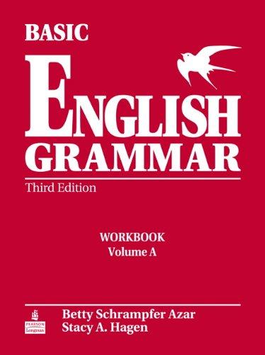 9780131849358: Basic English Grammar Workbook A with Answer Key