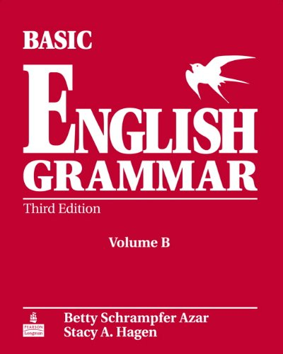 Basic English Grammar, Vol. B With CD (0131849409) by Betty Schrampfer Azar; Stacy A. Hagen