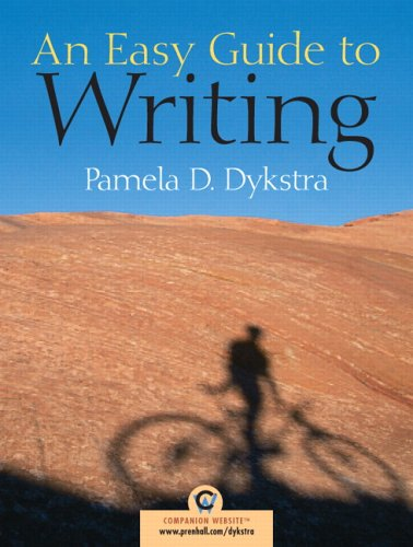9780131849549: An Easy Guide to Writing