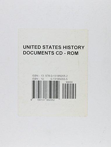 9780131850552: U. S. History Documents CD-ROM