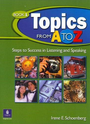 9780131850743: Topics from A to Z, 1 Audio CD