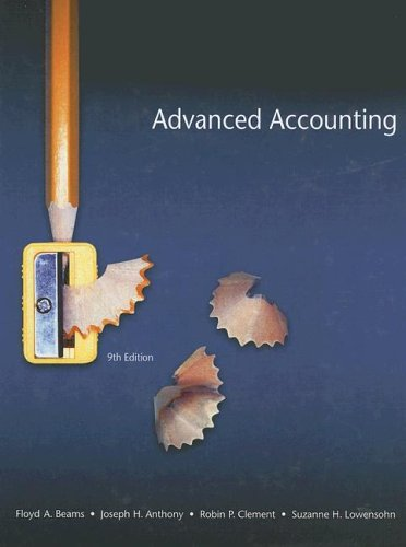 9780131851221: Advanced Accounting (9th Edition)