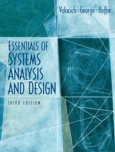 9780131854628: Essentials of System Analysis and Design