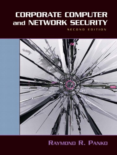 9780131854758: Corporate Computer and Network Security