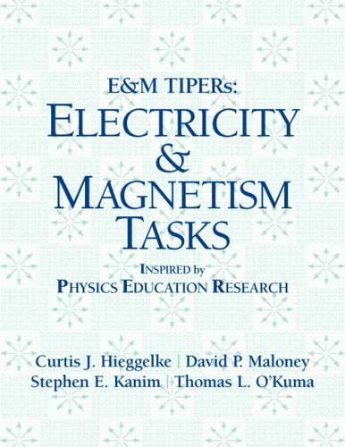 9780131854994: E&M TIPERs: Electricity & Magnetism Tasks