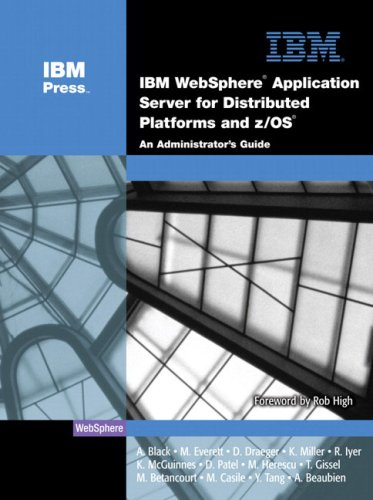 IBM(R) WebSphere(R) Application Server for Distributed Platforms: A. Black, M.