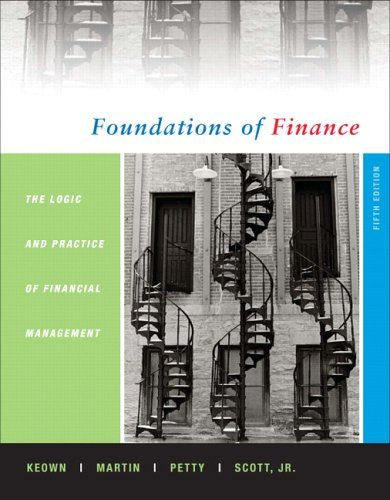 9780131856059: Foundations of Finance: The Logic and Practice of Finance Management (5th Edition) (Prentice Hall Finance Series)