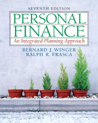 9780131856196: Personal Finance: An Integrated Planning Approach (7th Edition)