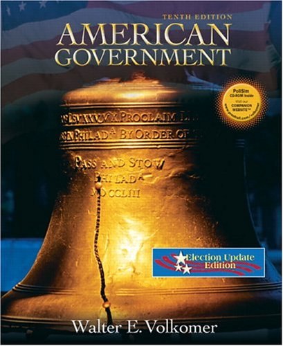9780131856356: American Government Election Update (10th Edition)