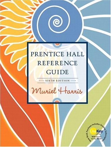 9780131856400: Prentice Hall Reference Guide (Prentice Hall Reference Guide to Grammar & Usage)
