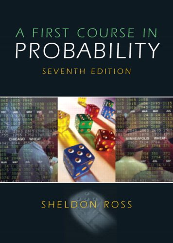 9780131856622: First Course in Probability, A (7th Edition)