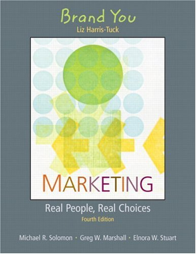 9780131857001: Brand You for Marketing: Real People, Real Choices