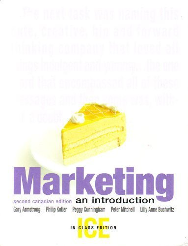9780131857209: MARKETING: INTRO (CANADIAN ED)