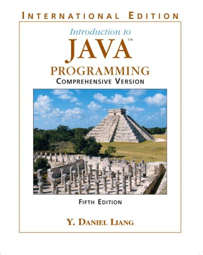 9780131857216: Introduction to Java Programming: Comprehensive: Comprehensive Version