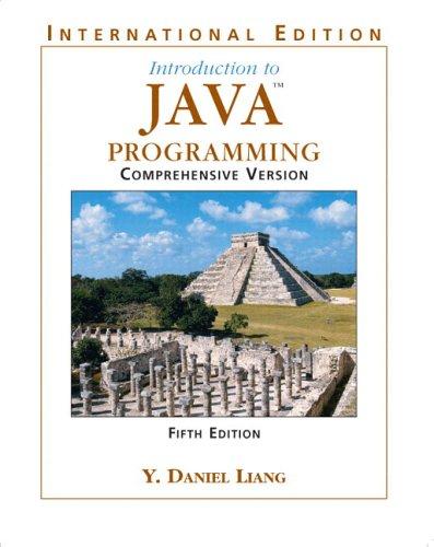 9780131857216: Introduction to Java Programming, Comprehensive: International Edition: Comprehensive Version