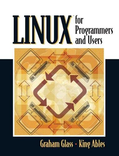 9780131857483: Linux for Programmers and Users