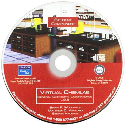 9780131857537: Virtual Chemlab: Genrl Chem S/Lab M/Wkbk2.5