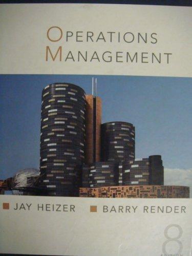 9780131857551: Operation Management
